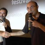 Premiazione di Domenico Centamore al MizzicaFILM Festival