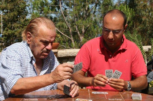 Con Tano Cimarosa sul set del documentario