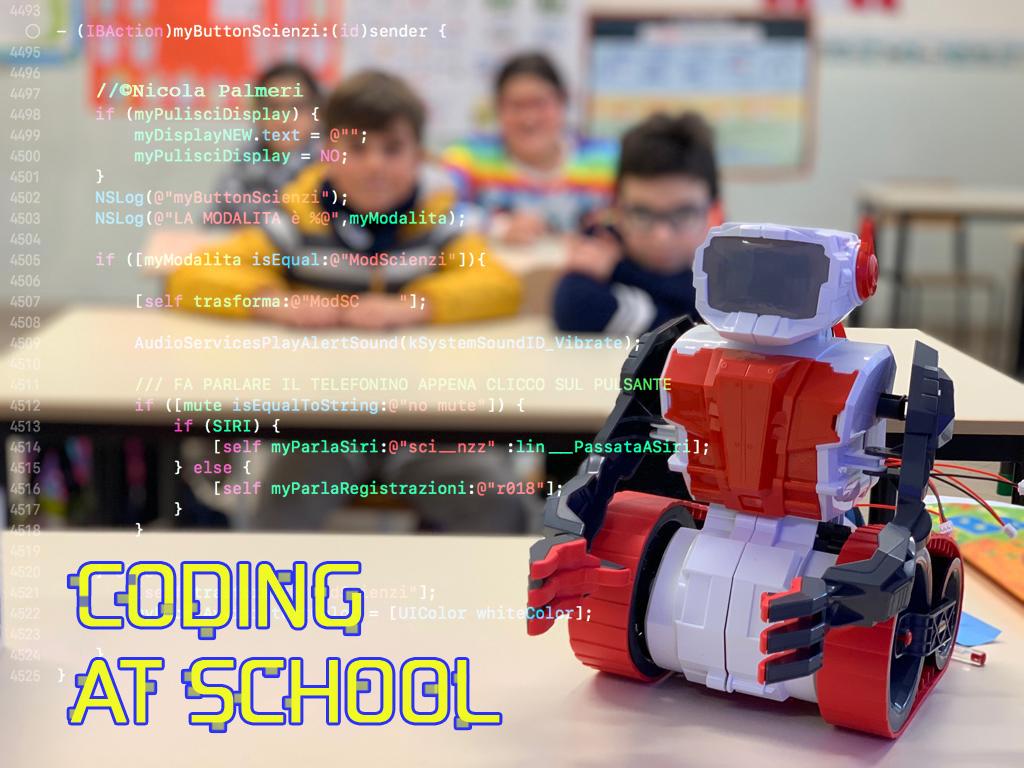 CodingATSchool - Nicola Palmeri
